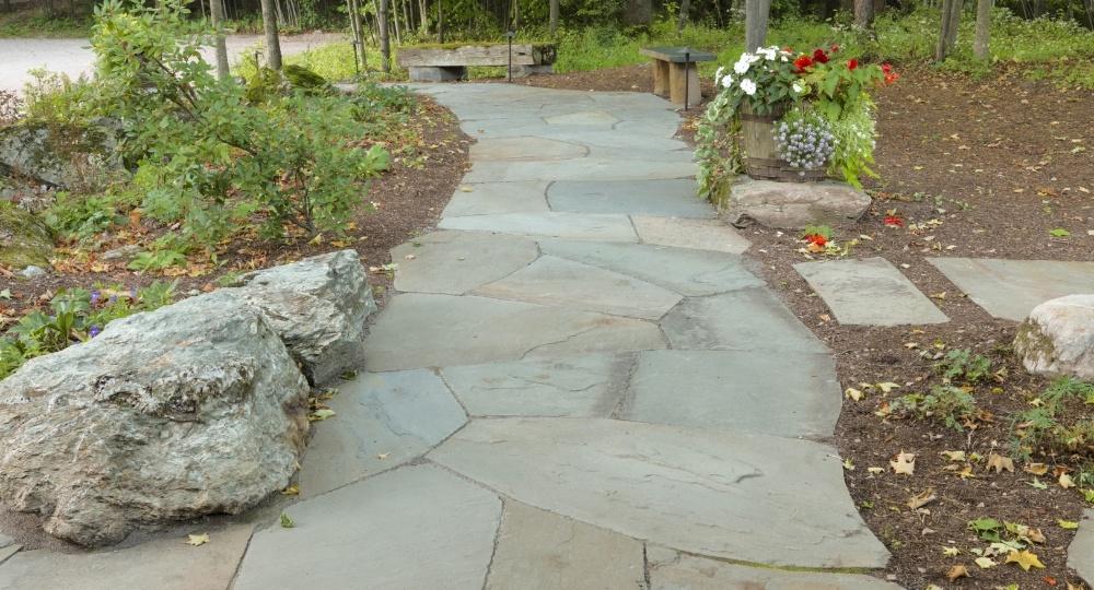 Bluestone walkway trends