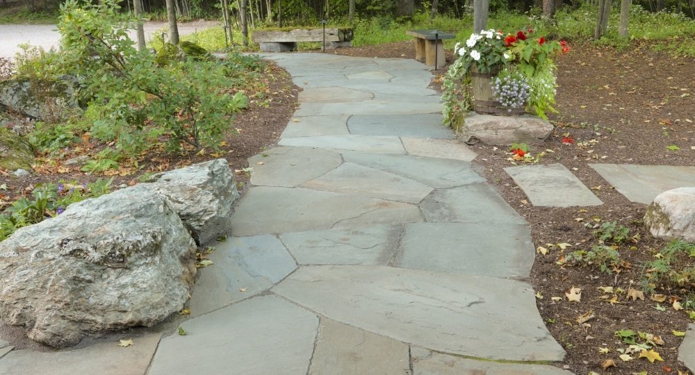 Bluestone walkway trends