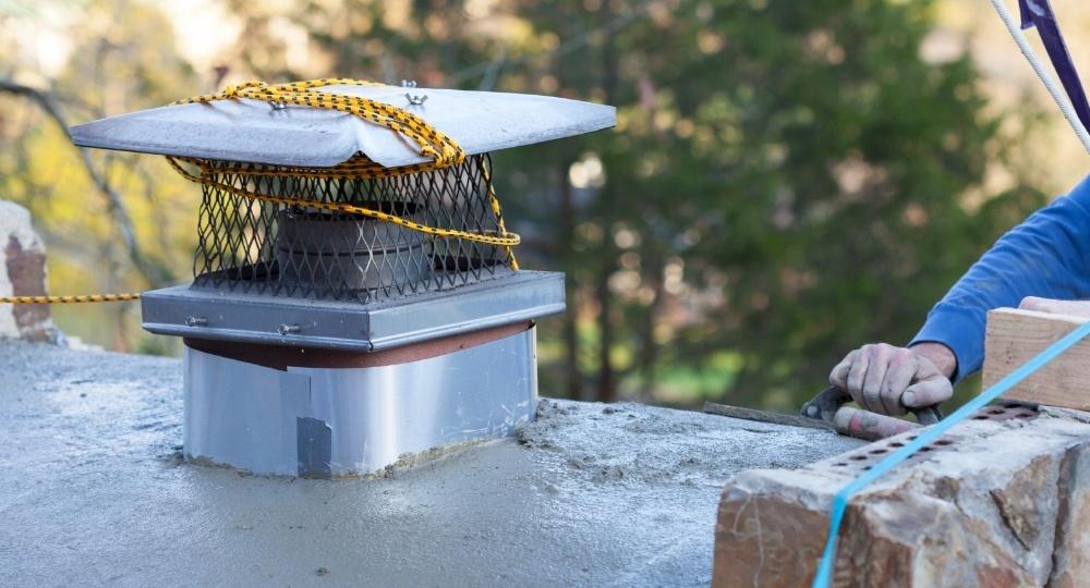 chimney crown repair