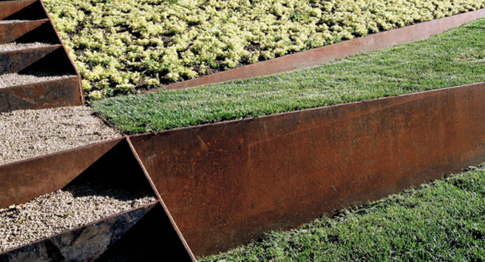 Accent Any Landscape with Borcon Steel Edging