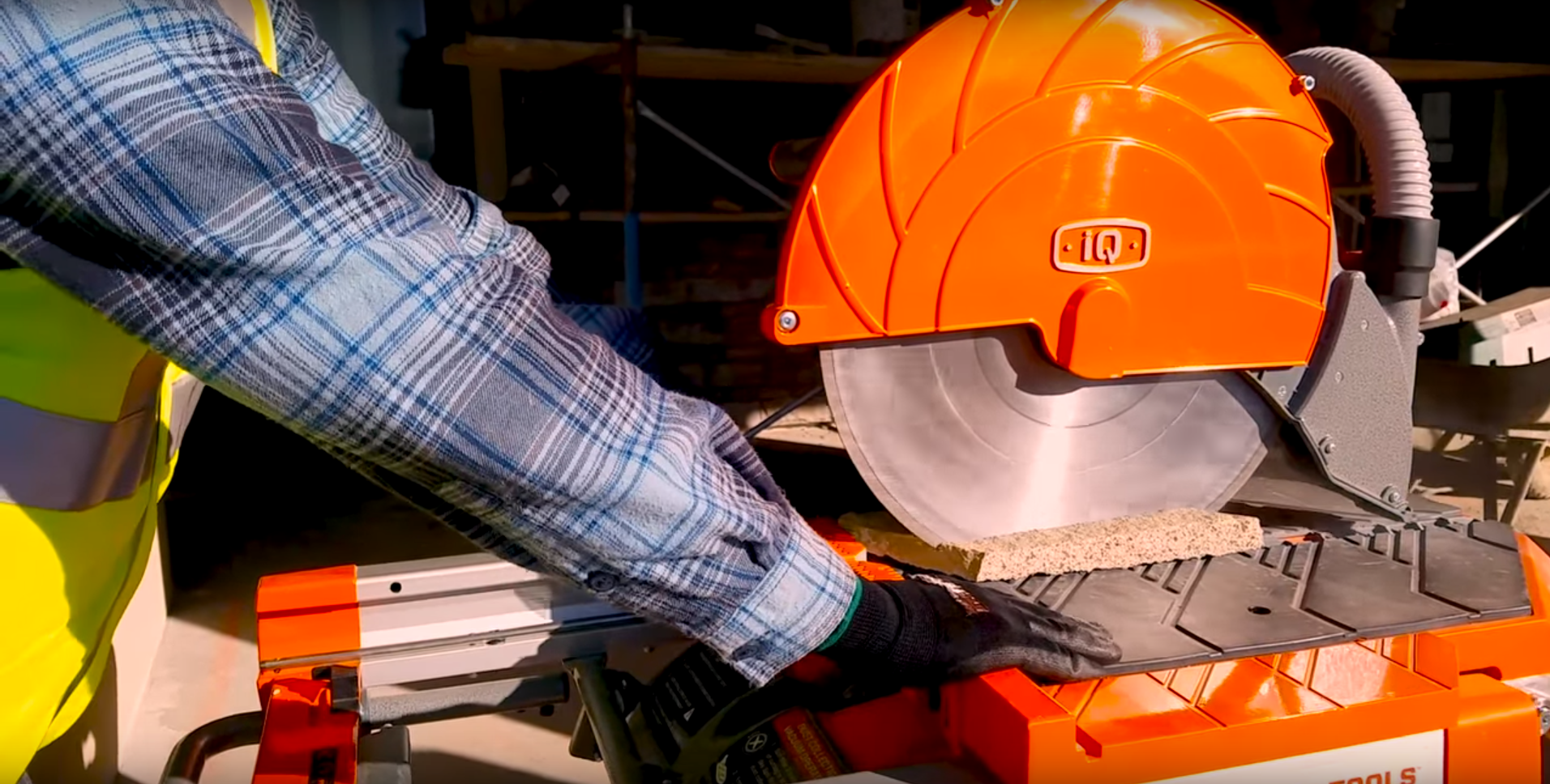 The First-Of-Its-Kind: iQMS362® Dust Control Masonry Saw